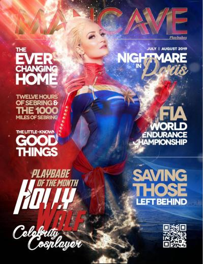 Mancave Playbabes   July August (2019)