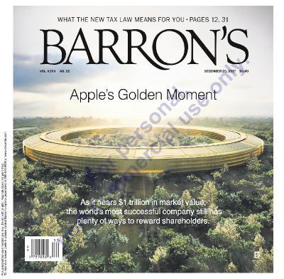 Barron s Magazine 12  25  (2017)
