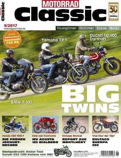 Motorrad Classic  September (2017)