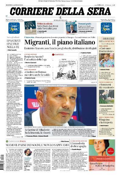 Corriere della Sera   14 07 (2019)