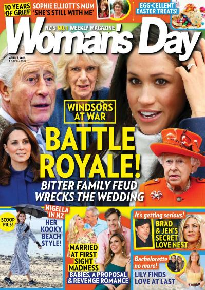 Woman ' s Day New Zealand   April 02 (2018)