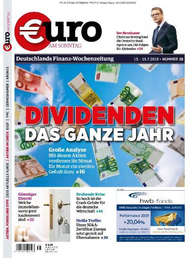 Euro am Sonntag   12 07 (2019)