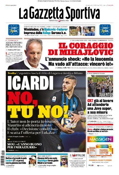 La Gazzetta dello Sport   14 07 (2019)