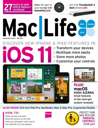 MacLife  Issue 131  August (2017)