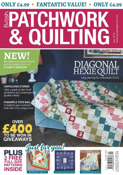 Patchwork & & Quilting UK  July (2018)