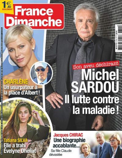France Dimanche  6 au 12 Octobre (2017)