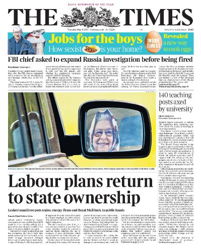 The Times  11 May (2017)