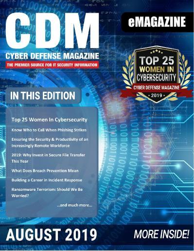 Cyber Defense Magazine   August (2019)
