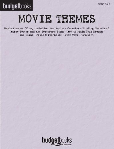 Movie Themes Budget Books