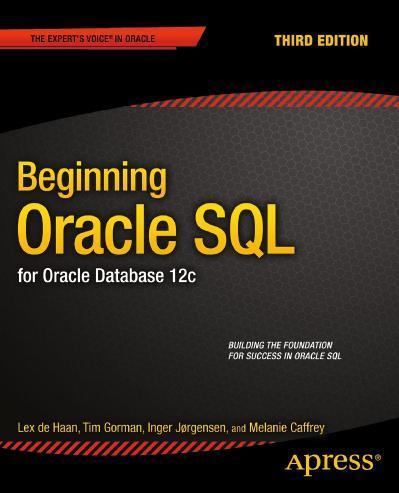 Begining Oracle SQL