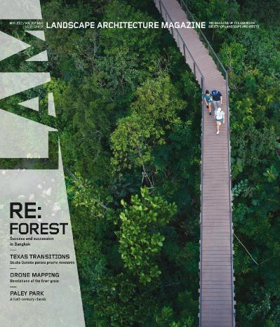 Landscape Architecture Magazine USA  May (2017)