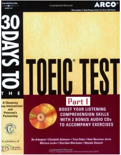 30 Days to the TOEIC Test   Part 1