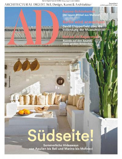 Architectural Digest Germany   07 2019   08 (2019)