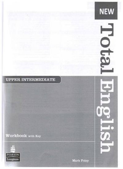 New Total English Upper intermediate Workbook   (2011)