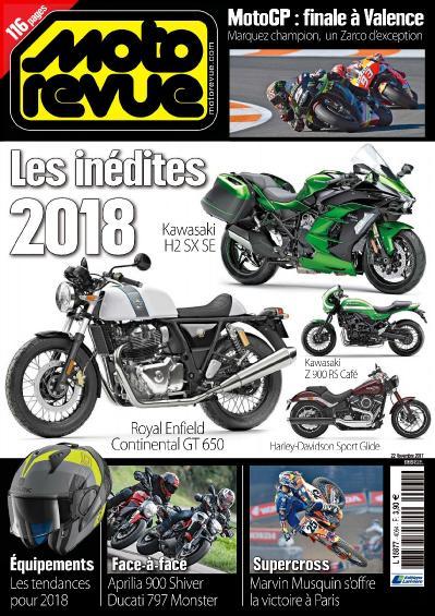 Moto Revue  22 novembre (2017)