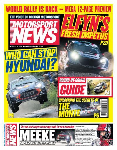 Motorsport News  January 23 (2018)