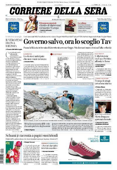 Corriere della Sera   06 08 (2019)