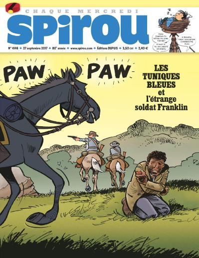 Le Journal de Spirou  27 Septembre (2017)
