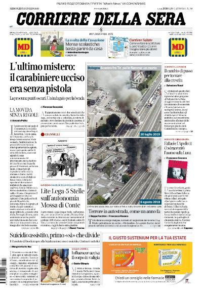Corriere della Sera   31 07 (2019)