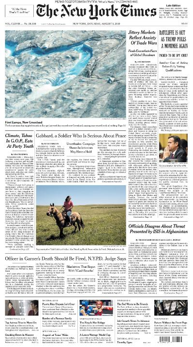 The New York Times   03 08 (2019)