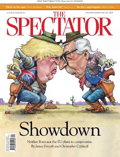 The Spectator   03 08 (2019)