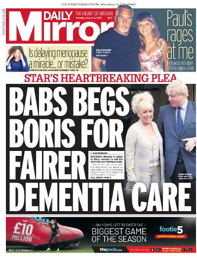 Daily Mirror   06 08 (2019)