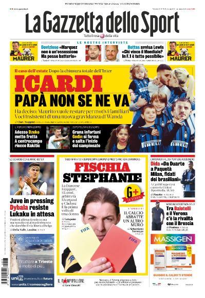 La Gazzetta dello Sport   03 08 (2019)