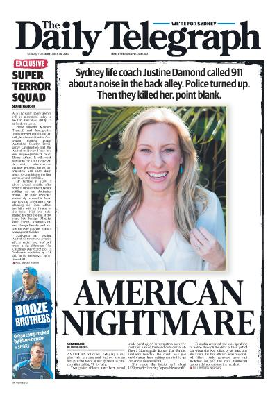 The Daily Telegraph Sydney  July 18 (2017)