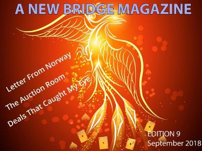 A New Bridge Magazine  September (2018)