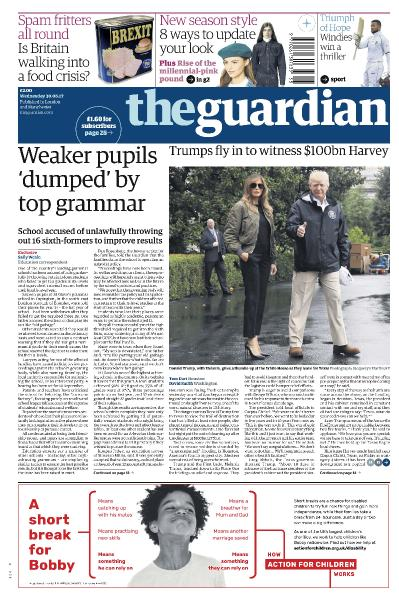 The Guardian  August 30 (2017)