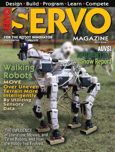 Servo Magazine   May June (2019)