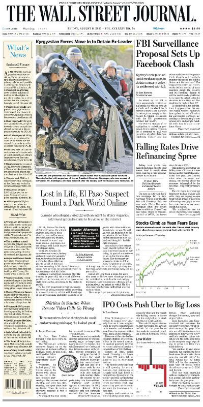 The Wall Street Journal   09 08 (2019)