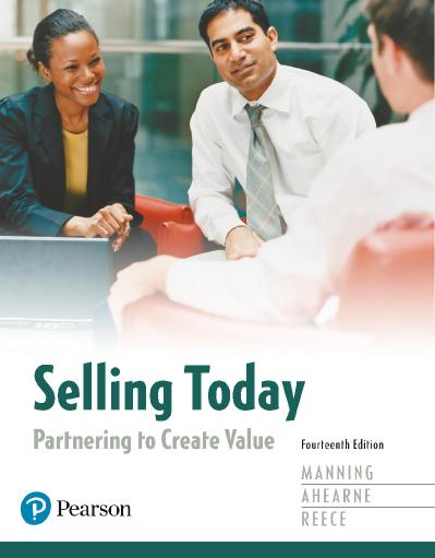Sellin Today Partnering to Create Value