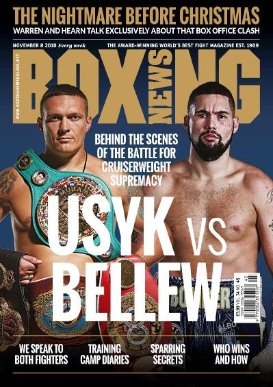 Boxing News  November 08 (2018)