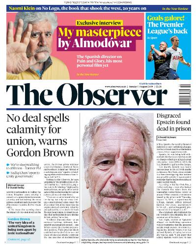 The Observer   11 08 (2019)
