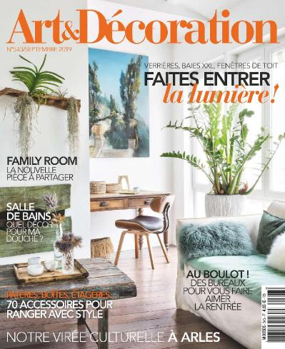 Art et D 2! coration N 543  Septembre (2019)