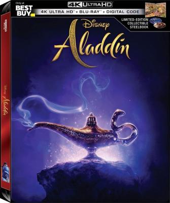 Аладдин / Aladdin (2019) WEBRip 1080p | Open Matte | Лицензия