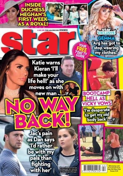 Star Magazine UK  04 June (2018)