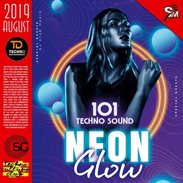 VA   Neon Glow  Techno Sound Party (2019)