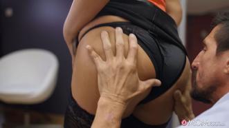 Anna Polina (Big Tits Milf In Sexy Stockings) [1080p]