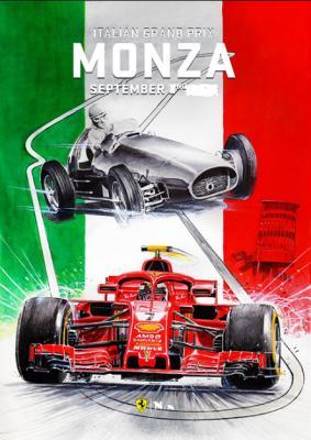 Формула 1. Сезон 2019. Этап 14. Гран-при Италии. Гонка (2019) HDTVRip 720p