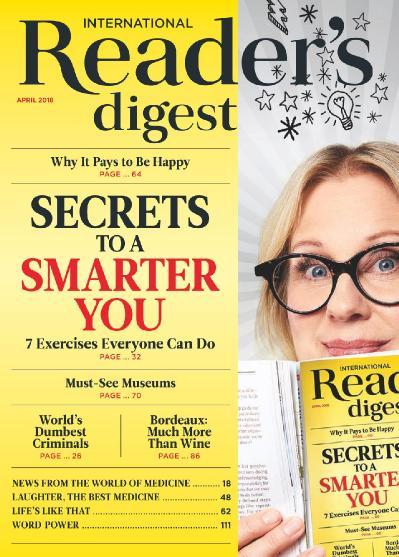Reader ' s Digest International - April (2018)