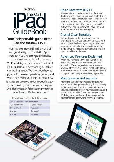 The iOS 11 iPad GuideBook  January (2018)