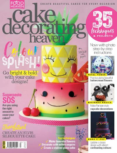Cake Decorating Heaven  July-August (2017)