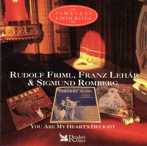 Readers Digest   You Are My Hearts Delight   Music Of Friml, Lehar & Romberg   3CD...