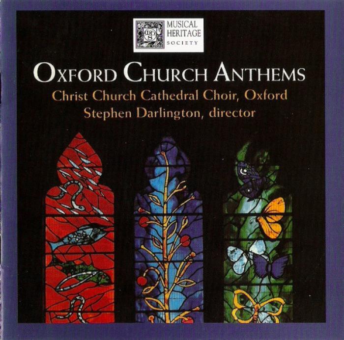 Christ Church Cathedral Choir Oxford - Oxford Church Anthems - Stephen Darlington