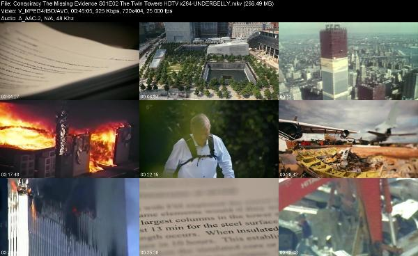 Conspiracy The Missing Evidence S01E02 The Twin Towers HDTV x264-UNDERBELLY[TGx]