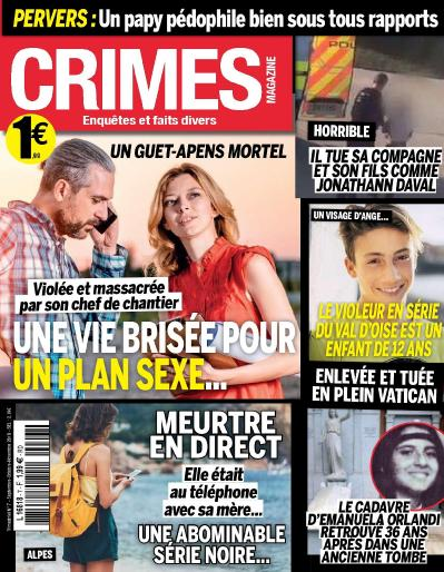 Crimes Magazine N 7  Septembre-Novembre (2019)