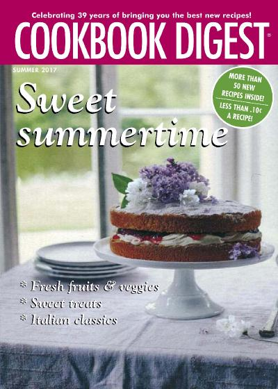 Cookbook Digest  Summer (2017)