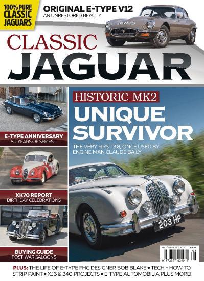 Classic Jaguar  August (2018)